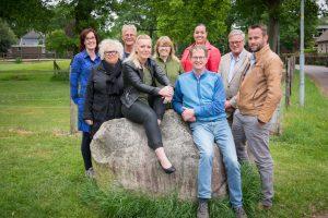 Voltallig bestuur plaatselijk Belang Noordbarge mei 2018, Emmen