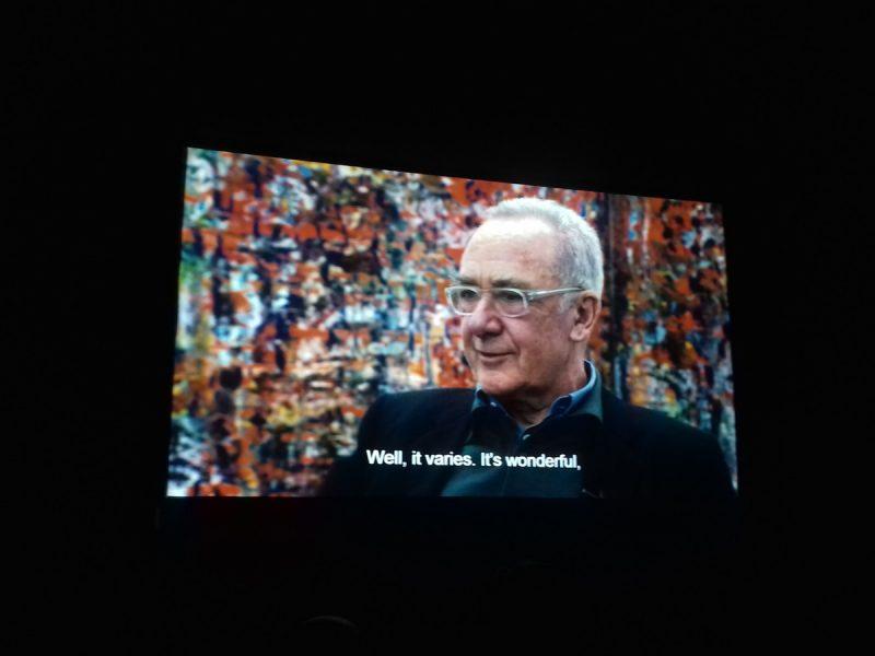 Mobiele bioscoop in Noordbarge