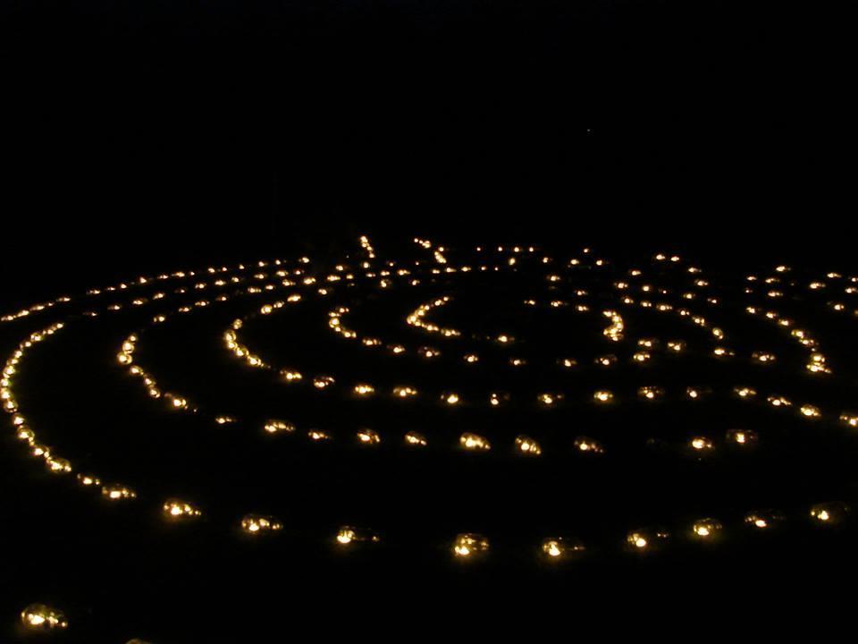 Lichtlabyrint Noordbarge