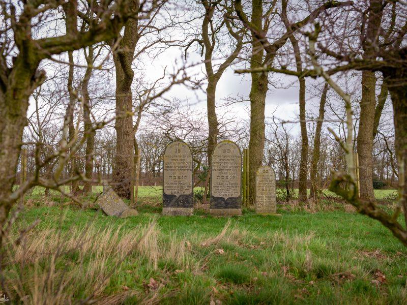 Joodse begraafplaats in Noordbarge