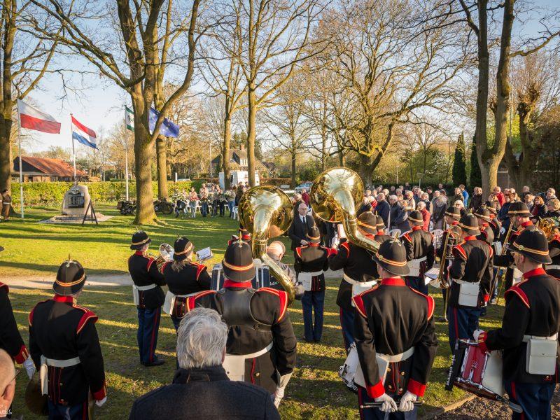 Herdenking bevrijding Emmen, 10 april 2019