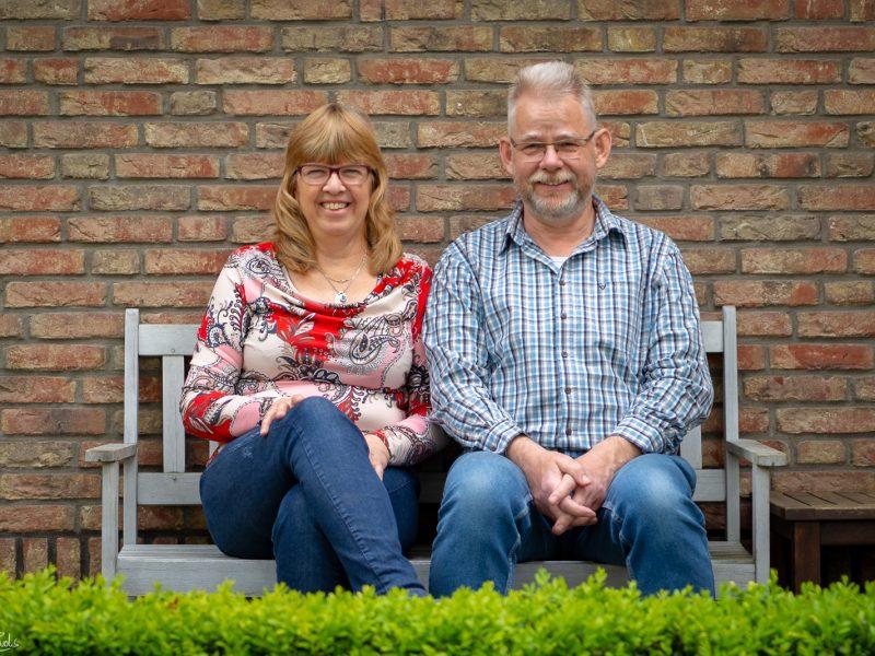 Inwoners met eeuwenoude wortels in Noordbarge: Wim en Sisca Boonstra