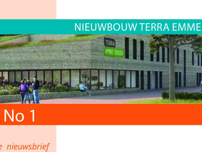 Nieuwsbrief 1 Terra nieuwbouw