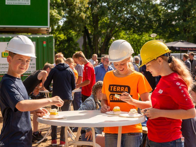Feestelijke aftrap bouw van nieuw onderkomen van Terra Emmen in Noordbarge