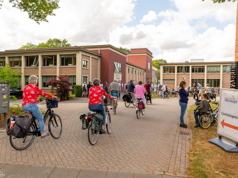 Drentse Fiets4daagse in Noordbarge