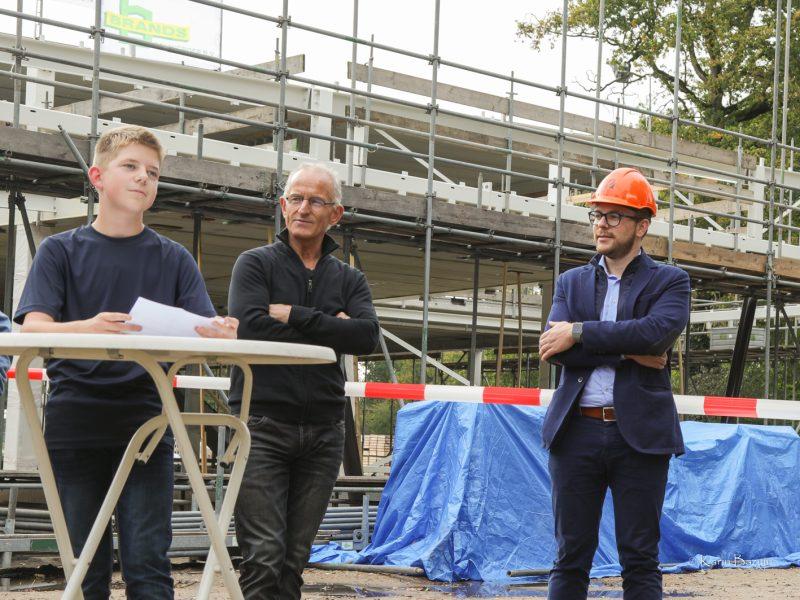 Nieuwbouw Terra College bereikt hoogste punt