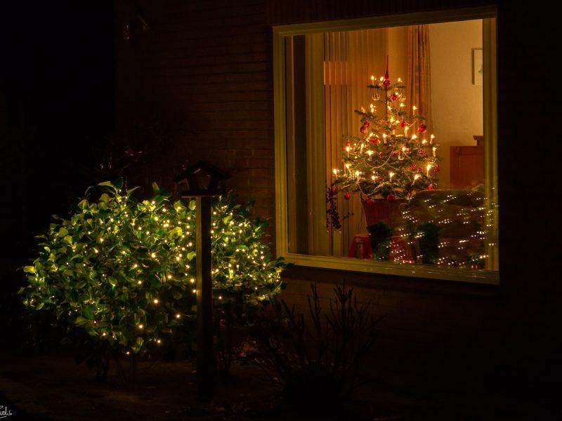 Noordbarge en de verlichte dagen voor Kerst