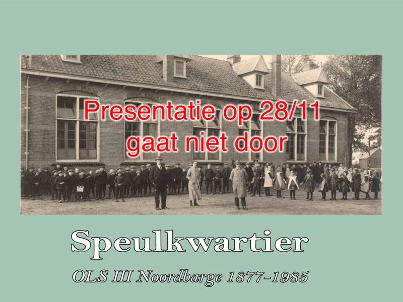 Boekpresentatie 'Speulkwartier'