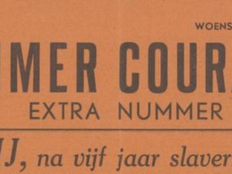 Emmen bevrijd. Verslag Emmer Courant 11 april 1945