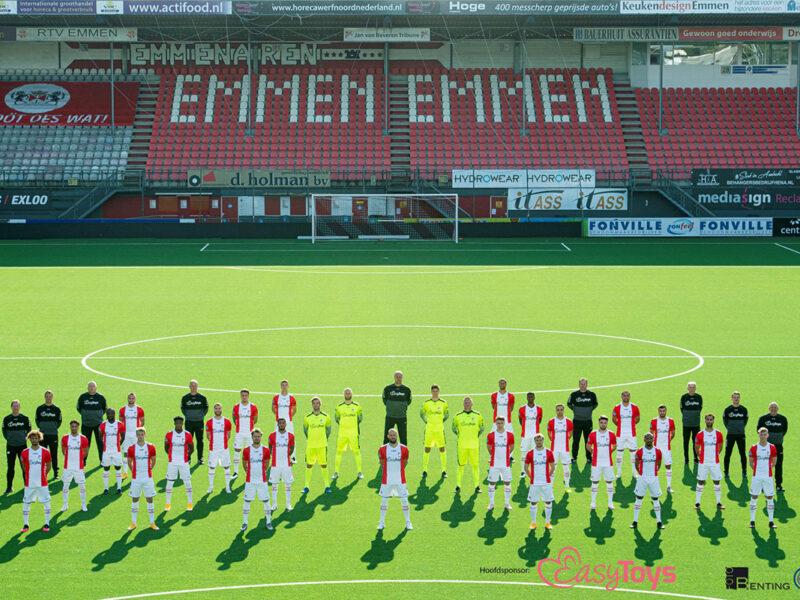 FC Emmen bestaat dankzij Noordbarge