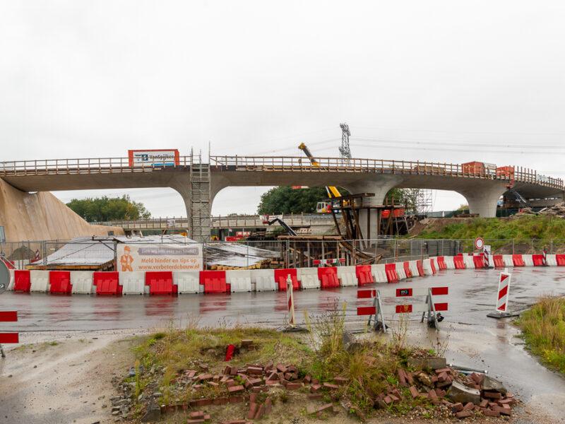 Maandag 6 september 2021 start laatste bouwfase Knooppunt Emmen West